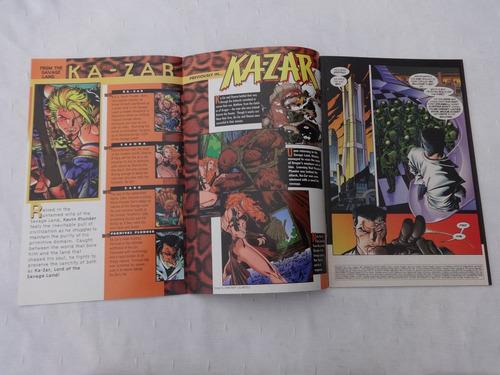 ka-zar nº 4 - vol. 2 - mark waid & andy kubert - 1997