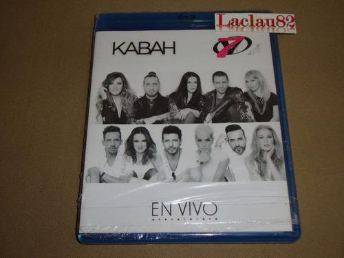 kabah y ov7 en vivo 2015 sony 2 cds + bluray