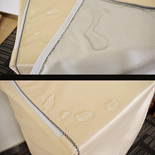 kabamen funda de lavadorala cubierta de la secadora cubierta