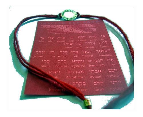 kabbalah pulsera hilo rojo cabala evita mal ojo