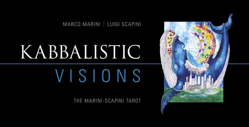 kabbalistic visions, libro y tarot en ingles tarot cabalista