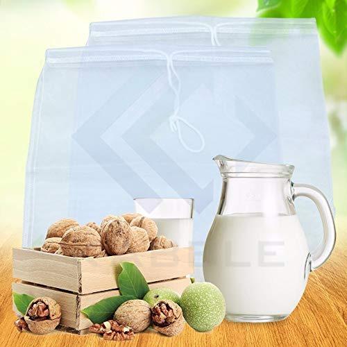 kabble   premium nylon nut milk bags and food grade nylon me