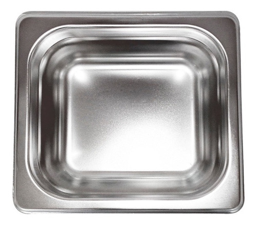kacn bwk602 recipiente / inserto ligero sexto de 6.5 cm inox