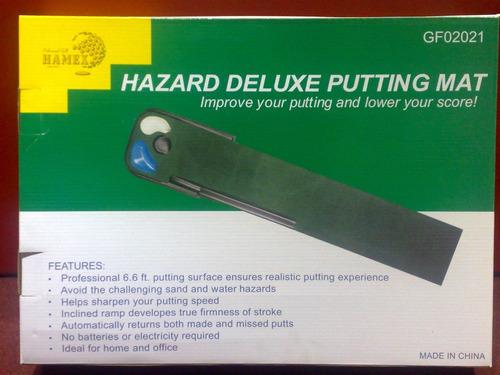 kaddygolf. accesorios para golf - alfombra para putter