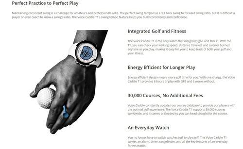 kaddygolf reloj gps completo reconoc automático fitting hora