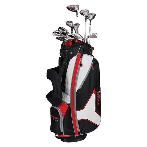 kaddygolf set palos golf callaway strata tour hombre