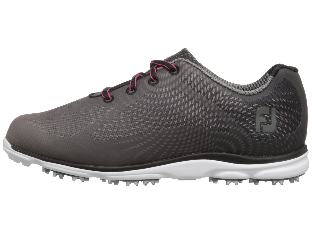 dc38125706a kaddygolf zapatillas golf footjoy empower dama gris oscuro. Cargando zoom.