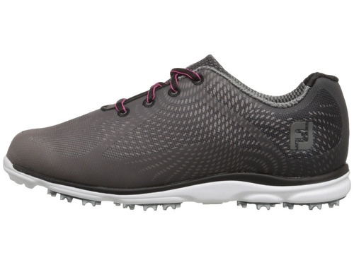 kaddygolf zapatillas golf footjoy empower dama gris oscuro