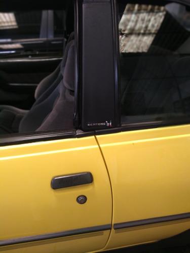 kadett gsi conversível amarelo milano