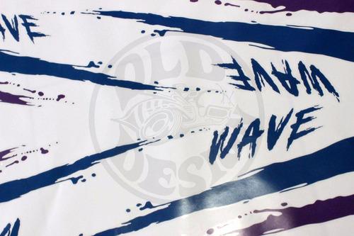 kadett ipanema wave faixa adesivo 3m estampada - old design