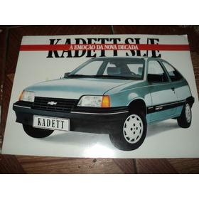 Kadett Sl/e 1989 Catalogo