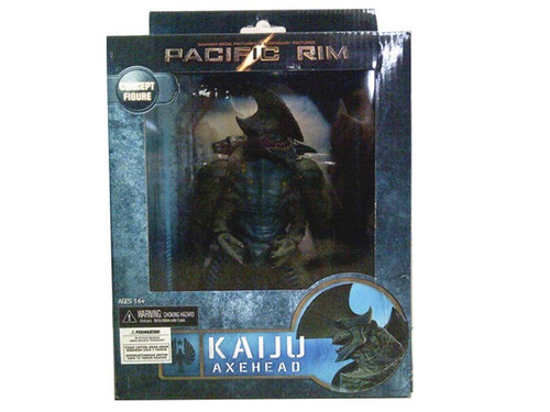 kaiju axehead deluxe - pacific rim - neca