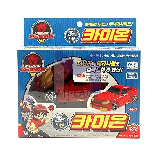 kaion jr. red-turning mecard w transformacin de robot c...