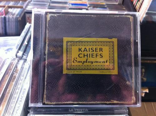 kaiser chiefs employment cd japones nuevo