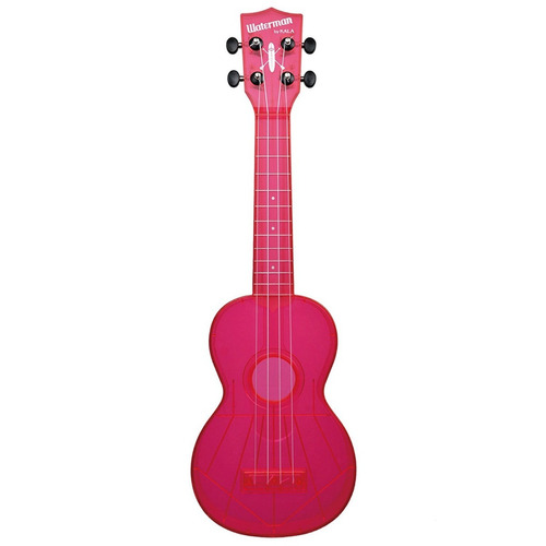 kala waterman soprano ukulele  transparente o fluorecentes