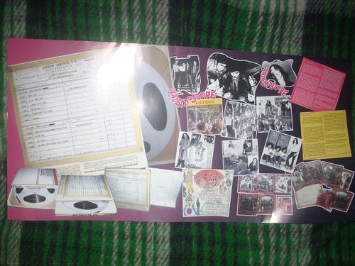 kaleidoscope,sicodelia rock mexicano,trae poster e insert.