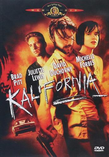 kalifornia brad pitt pelicula dvd