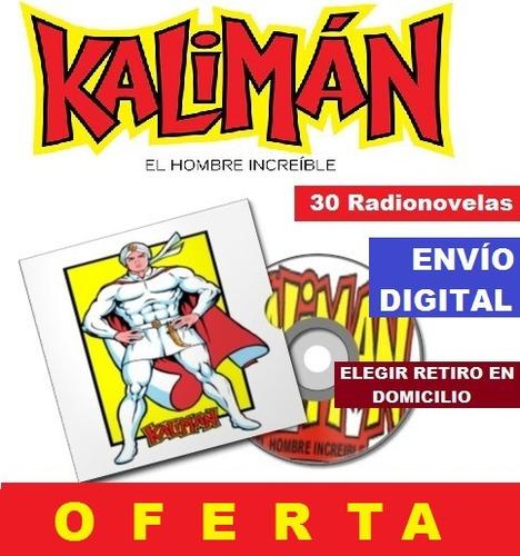 kaliman - 30 radionovelas - envío gratis