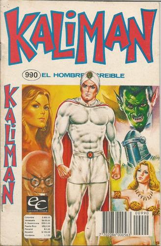 kalimán el hombre increíble  varias revistas editora cinco