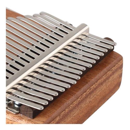 kalimba 17 teclas de repuesto de acero manganeso para pulgar