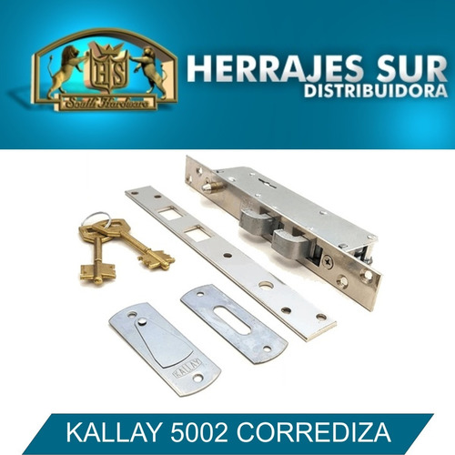 kallay 5002 cerrojo porton corredizo puerta angosto