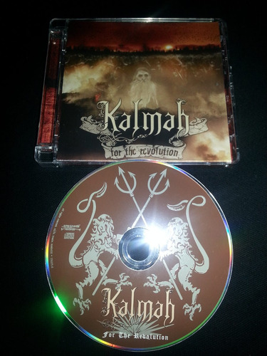 kalmah - for the revolution spikefarm records melodic death