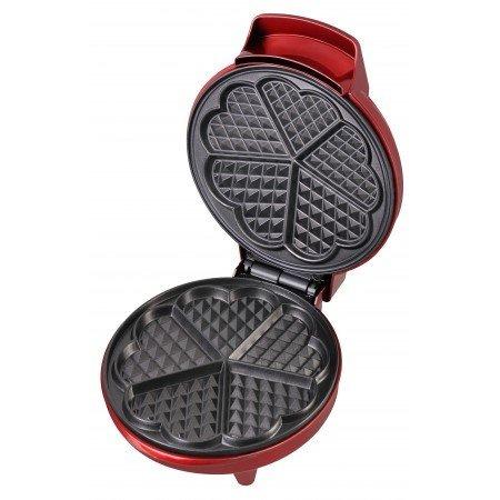 kalorik heartshaped waffle maker red