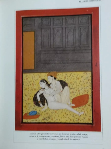 kama sutra. ananga ranga - el jardín perfumado ilustrados.