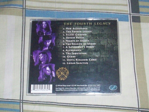 kamelot - the fourth legacy cd