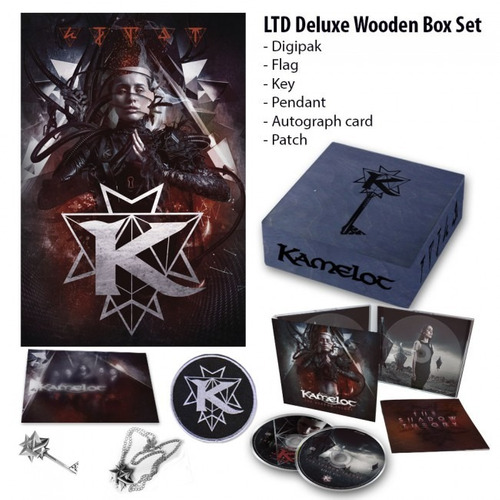 kamelot - the shadow theory / wooden box