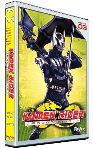 kamen rider - dragon knight vol. 03 - dvd - stephen lunsford