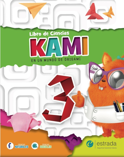 kami 3 - maxicuaderno + libro de ciencias - estrada
