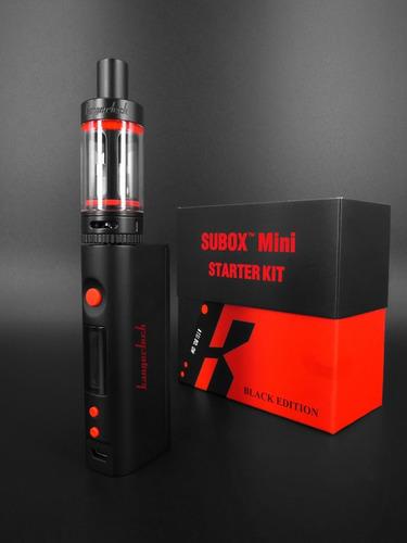 kangertech subox mini starter kit vaporizador mas accesorios