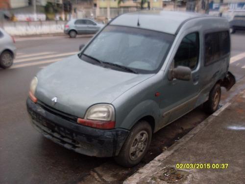 kangoo 1.6 8v gasolina //// sucata ////
