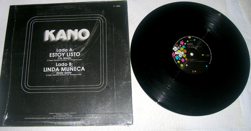 kano estoy listo vinyl single mexicano descontinuado 1980