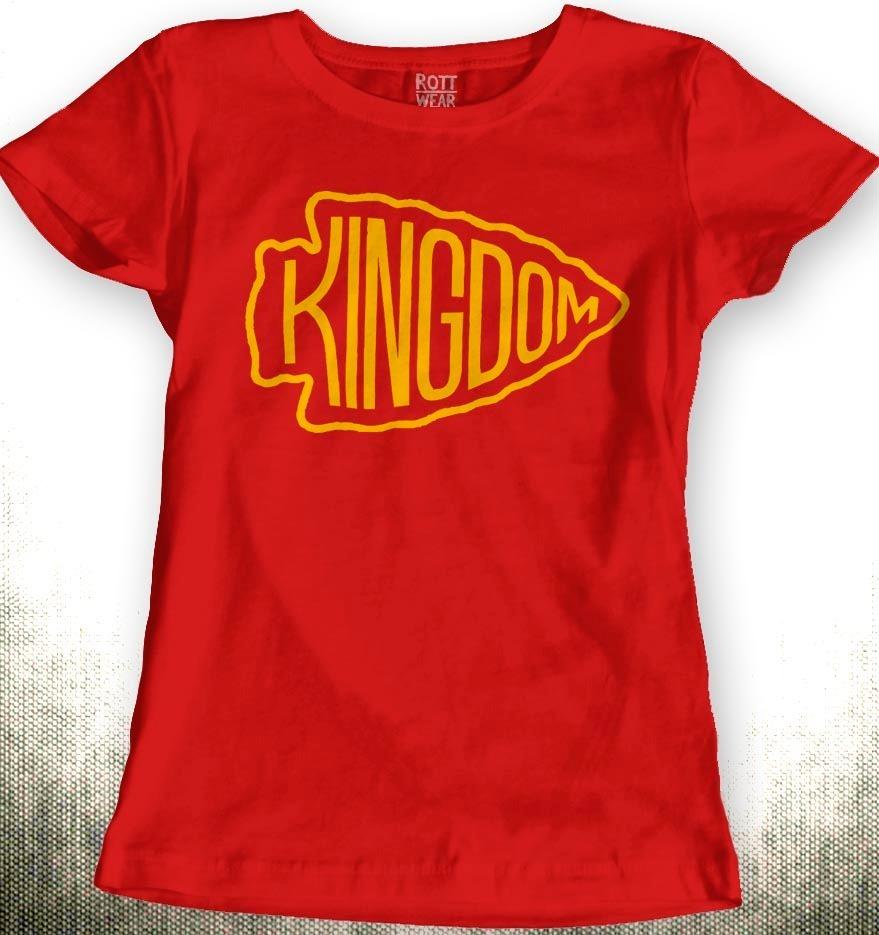 the best attitude 59929 dae49 Kansas City Chiefs Kingdom Kc Nfl Playera Dama Rott Wear