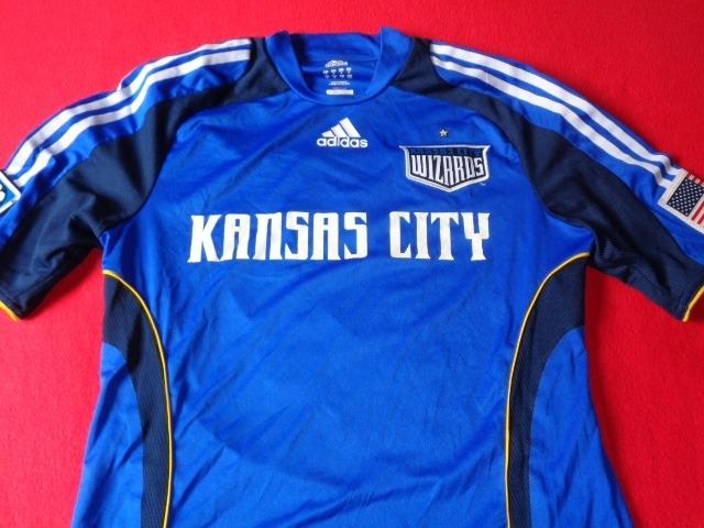 innovative design 2ffe7 54465 Kansas City Wizards Jersey Futbol Soccer Mls - $ 2,499.00