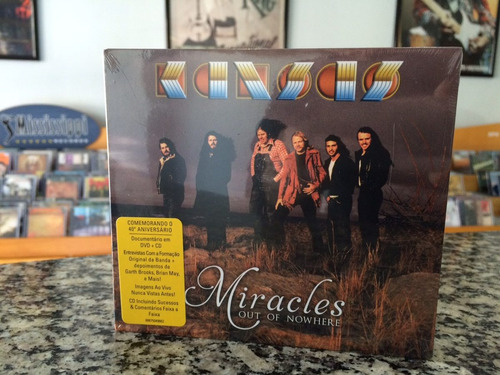 kansas - miracles out of nowhere (cd+dvd)