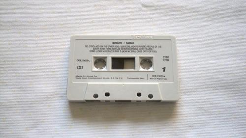 kansas monolith cassette 1993 sony music mexico