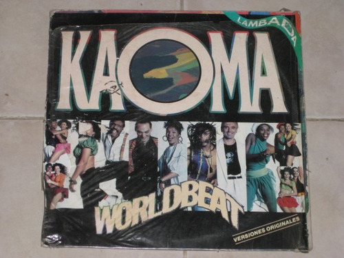 kaoma worldbeat lambada disco lp  vinil