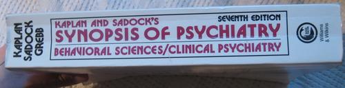 kaplan, sadock, grebb - synopsis of psychiatry