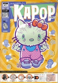 kapop comics n° 2  - noviembre 1998