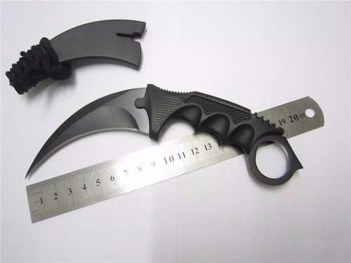 karambit aço faca