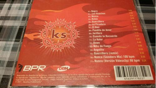 karamelo santo - los gauchos - cd original  2001