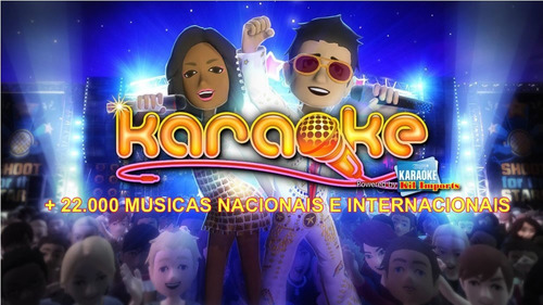 karaokê 21.000 musicas+programas+videoinstalaçao.