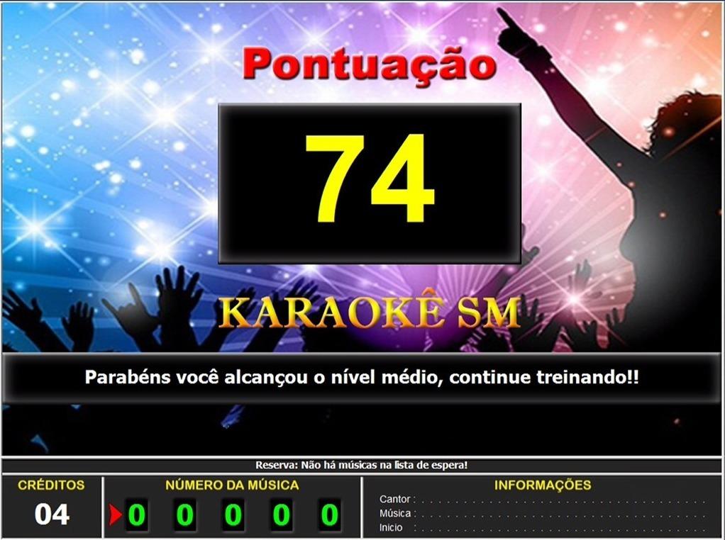 karaoke gratis para pc com pontuao