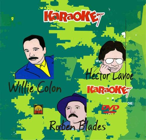 karaoke 3 salseros pesados excelente para dvd en tv ya mismo