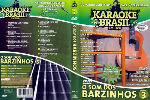 karaoke 7 dvd coletanea internacional pop mpb bem barato