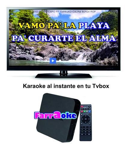 karaoke 8100 temas + micrófono inalambrico + libro impreso