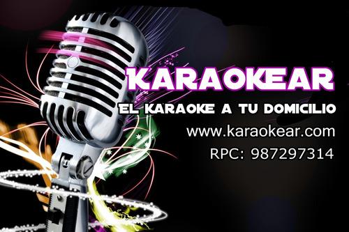 karaoke a domicilio delivery, sonido, dj, pistas musicales